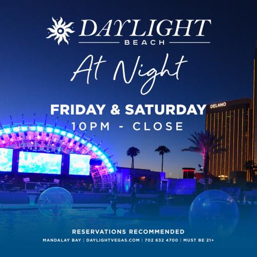 Mike Oz at Daylight Beach at Night thumbnail