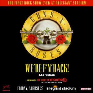 Flyer: Guns N Roses